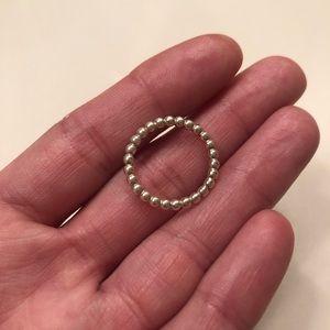 PANDORA silver ring size 5